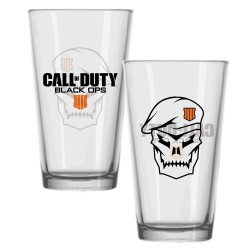 Call of Duty Black Ops 4 verre Skull