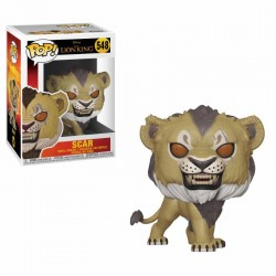 Le Roi lion (2019) POP! Disney Vinyl figurine Scar 9 cm
