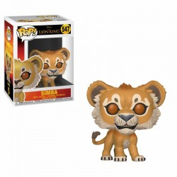 Le Roi lion (2019) POP! Disney Vinyl figurine Simba 9 cm