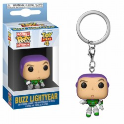 Toy Story 4 porte-clés Pocket POP! Vinyl Buzz Lightyear 4 cm