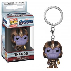 Avengers Endgame porte-clés Pocket POP! Vinyl Thanos 4 cm