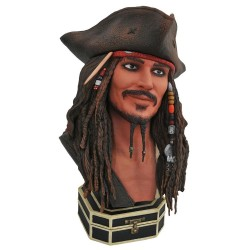 Pirates des Caraïbes Legends in 3D buste 1/2 Jack Sparrow 25 cm