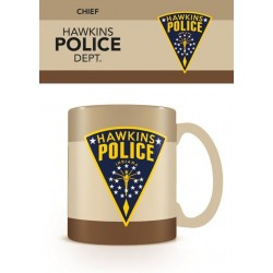 Stranger Things mug Hawkins Police