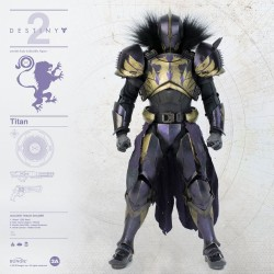 Destiny 2 figurine 1/6 Titan Golden Trace Shader 32 cm