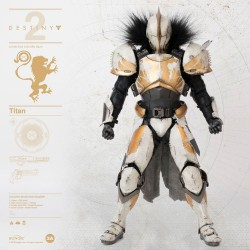 Destiny 2 figurine 1/6 Titan Calus's Selected Shader 32 cm
