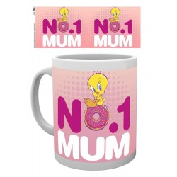 Looney Tunes mug Number One Mum Mothers Day