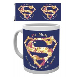 Superman mug Mum Greatest Mothers Day