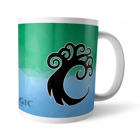 Magic the Gathering mug GOR Fractal Simic