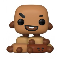BT21 Line Friends Figurine POP! Animation Vinyl Shooky 9 cm