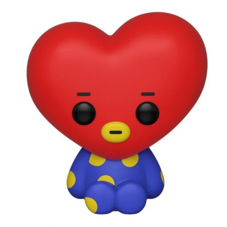 BT21 Line Friends Figurine POP! Animation Vinyl Tata 9 cm