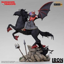 Donjons et Dragons statuette Deluxe BDS Art Scale 1/10 Venger with Nightmare & Shadow Demon 44 cm
