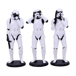 Original Stormtrooper pack 3 figurines Three Wise Stormtroopers 14 cm
