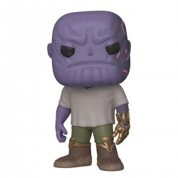 Avengers: Endgame POP! Movies Vinyl figurine Casual Thanos w/Gauntlet 9 cm