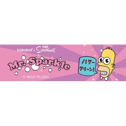 Les Simpson peluche Mr. Sparkle 28 cm
