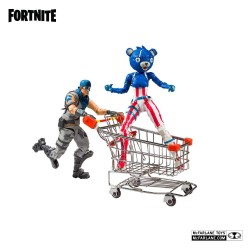 Fortnite figurines Shopping Cart Pack War Paint & Fireworks Team Leader 18 cm