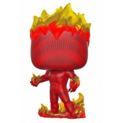 Marvel 80th POP! Heroes Vinyl figurine Human Torch (First Appearance) 9 cm