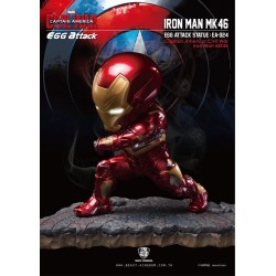Captain America Civil War statuette Egg Attack Iron Man Mark XLVI 20 cm