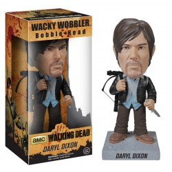 The Walking Dead Wacky Wobbler Bobble Head New Biker Daryl 18 cm