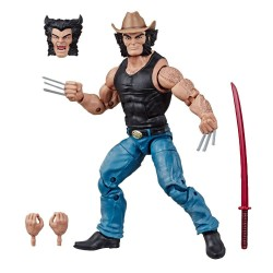 Marvel Legends 80th Anniversary Series figurine Cowboy Logan 15 cm