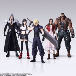 Final Fantasy VII Remake Trading Arts pack 5 figurines 10 cm