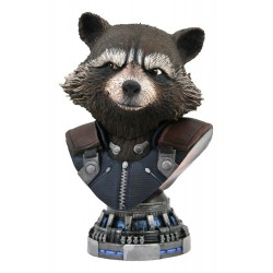 Avengers: Endgame Legends in 3D buste 1/2 Rocket Raccoon 20 cm