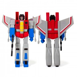 Transformers Wave 1 figurine ReAction Starscream 10 cm
