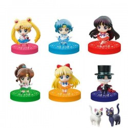 Sailor Moon Petit Chara assortiment trading figures Puchitto Oshioki yo! 2020 Ver. 5 cm (6)