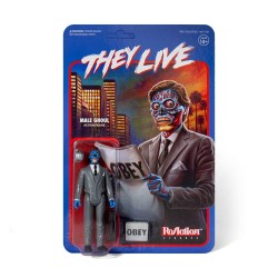 Invasion Los Angeles figurine ReAction Male Ghoul 10 cm