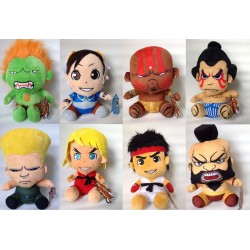 Street Fighter assortiment peluches 15 cm (8)