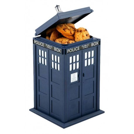 Doctor Who boîte à cookies sonore et lumineuse Tardis