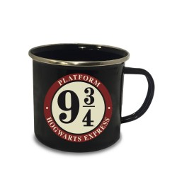 Harry Potter mug émail Platform 9 3/4