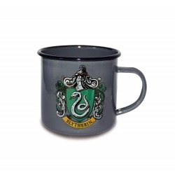 Harry Potter mug émail Slytherin Logo