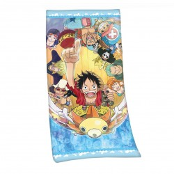 One Piece serviette de bain Straw Hat Pirates 75 x 150 cm