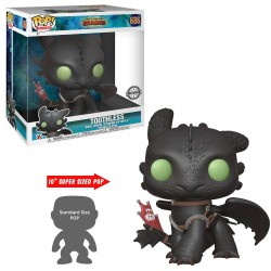 Dragons 3 : Le Monde caché Super Sized POP! Vinyl figurine Toothless 25 cm