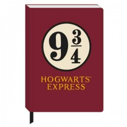 Harry Potter cahier A5 Platform 9 3/4