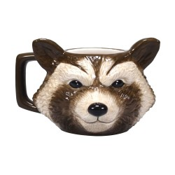 Marvel mug Shaped Rocket