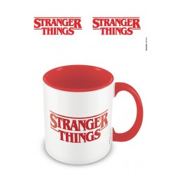 Stranger Things mug Coloured Inner Logo