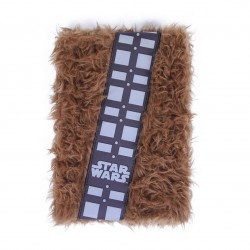 Star Wars carnet de notes peluche Premium A5 Chewbacca