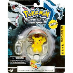 Pokemon Diamond and Pearl porte-clés PVC Pikachu