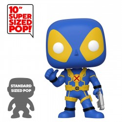 Deadpool Super Sized POP! Vinyl figurine Thumb Up Blue Deadpool 25 cm