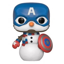 Marvel Holiday Figurine POP! Marvel Vinyl Captain America 9 cm