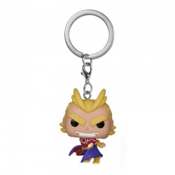 My Hero Academia porte-clés Pocket POP! Vinyl All Might (Silver Age) 4 cm