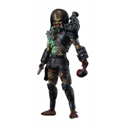 Predator figurine 1/18 Battle Damage Jungle Predator Previews Exclusive 11 cm