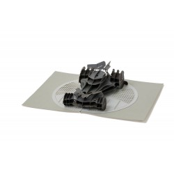 DC Comics carte pop-up 3D Batmobile