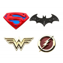 DC Comics pack 4 pin's Justice League