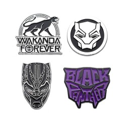 Marvel pack 4 pin's Black Panther