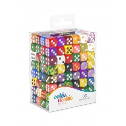 Oakie Doakie Dice dés Retail Pack D6 12 mm Mixed (192)