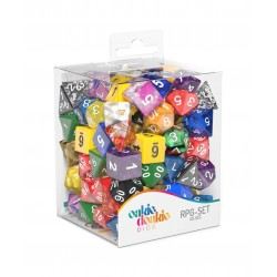 Oakie Doakie Dice dés RPG-Set Retail Pack Mixed (105)