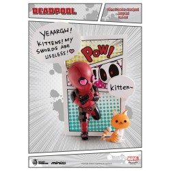 Marvel Comics figurine Mini Egg Attack Deadpool Jump Out 4th Wall 12 cm
