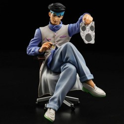 JoJo's Bizarre Adventure Diamond Is Unbreakable statuette PVC Memo Holder Kihsibe Rohan 12 cm
